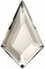 SWAROVSKI®   2771  Kite Crystal Silver Shade  Foiled