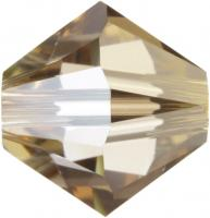 SWAROVSKI® 5328 Crystal Golden Shadow
