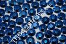 Borchie Strass Alu Hotfix Navy-Blue 1500 pcs, 4 mm 4 mm|1500 pezzi - 8,90 EUR